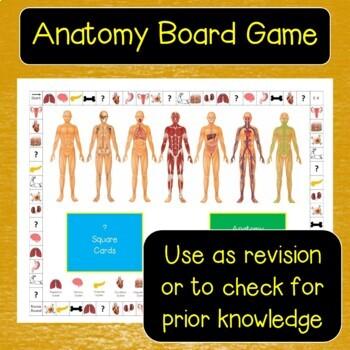 Anatomy Board Game
