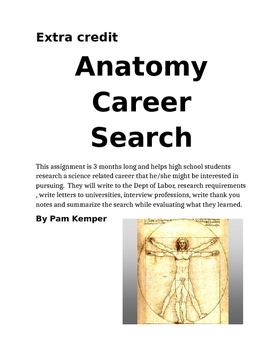 Anatomy Career Search Project