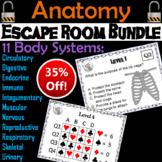 Anatomy Escape Room Science (Human Body Systems: Circulatory, Endocrine, etc.)