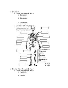 Anatomy Final Exam review