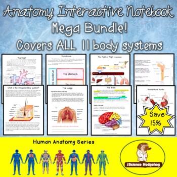 Anatomy Interactive Notebook Mega Bundle!