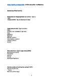 Anatomy Mnemonics for Students and Educators