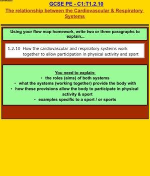 Anatomy & Physiology - 20 - Cardio & Resp Relationship & Sport