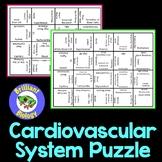 Anatomy & Physiology: Cardiovascular System Puzzle