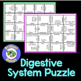Anatomy & Physiology : Digestive System Puzzle