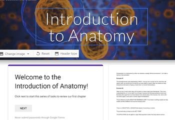 Anatomy & Physiology Digital Breakout Room with