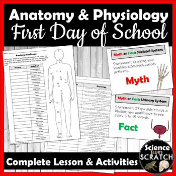 Anatomy & Physiology - First Day of School