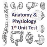 Anatomy & Physiology First Unit Test