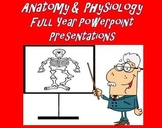 Anatomy and Physiology   PowerPoint Presentations Full Year Bundle