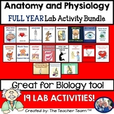 Anatomy and Physiology Lab Activity Bundle