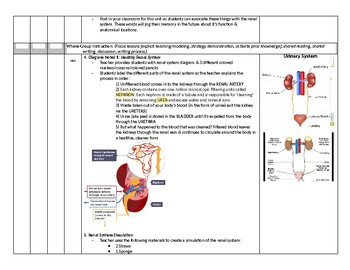 Anatomy & Physiology: Renal System - EMT Lesson Plan