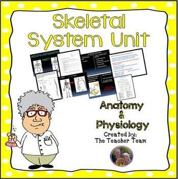 Anatomy and Physiology and Biology Units Full Year Bundled Package