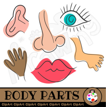 Free Anatomy Scribble Clip Art