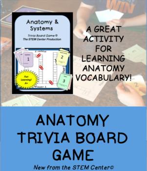 Anatomy Trivia Board Game