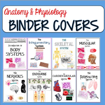 Anatomy and Physiology Binder Covers