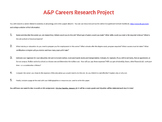 Anatomy and Physiology Careers Research Paper