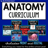 Anatomy and Physiology Curriculum - FULL YEAR Bundle