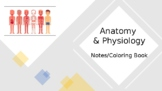 Anatomy and Physiology Notes/Coloring Book *ESE *Editable*