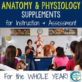 Anatomy and Physiology Supplements for Instruction and Assessment BUNDLE
