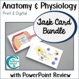 Anatomy and Physiology Task Card Bundle