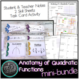 Anatomy of Quadratic Function Mini-Bundle