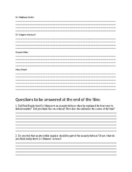 Anatomy of a Murder Movie Guide
