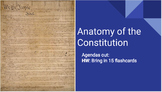 Anatomy of the Constitution