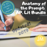 Anatomy of the Essay Prompts on the AP Literature and Composition Exam--Bundle