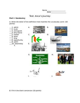 Anca's Journey Test - easier version