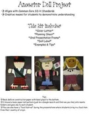Ancestor Doll Art and Oral Presentation Project