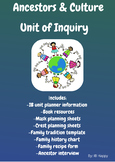 Ancestor and Culture Unit of Inquiry
