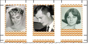 AncestoryMemory Cards_Orange Chevron