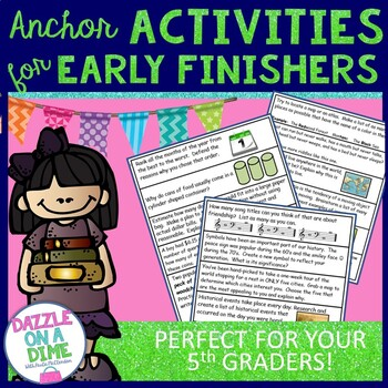 Early Finishers - 5th Grade