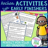 Early Finishers - 4th Grade