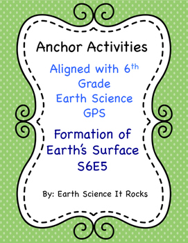 Anchor Activity Formation of Earth's Surface S6E5