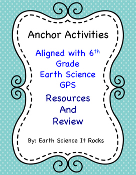 Anchor Activity Resources S6E6