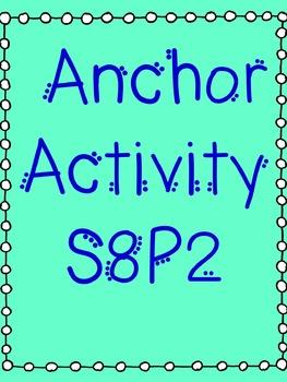 Energy Anchor Activity  S8P2