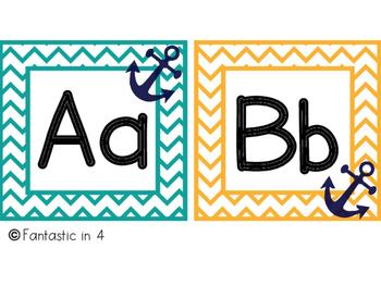 Anchor Alphabet