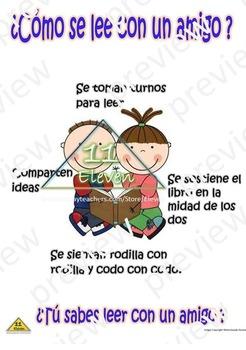 Anchor CHart (Spanish) Como se lee con un amigo?