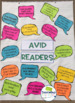 Anchor Chart Avid Readers