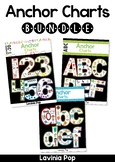 Alphabet & Number Anchor Chart BUNDLE