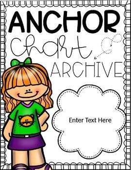 Anchor Chart Binder (Editable)
