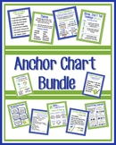Anchor Chart Bundle, Green & Blue Polka Dots