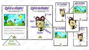 """Anchor Chart """"Etiquetas"""" (Spanish)"""