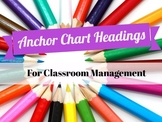 ~ Back to School! Labels for Classroom Management ~