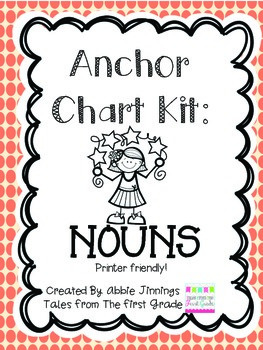 Anchor Chart Kit- Nouns