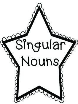 Anchor Chart Kit- Nouns Singular Plural