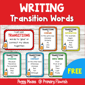 writing transition words