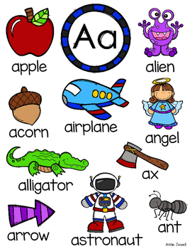 Anchor Chart - Letter A