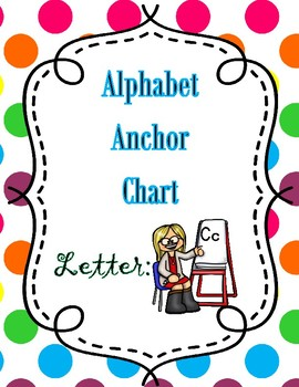 Anchor Chart Letter Cc